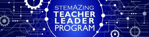 Teacher leader  header blue